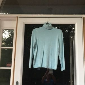 Chico's Long Sleeve Turtle Neck Sweater